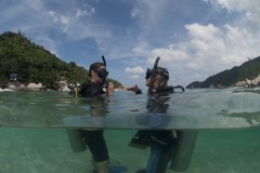 Learning to dive on Ko Tao