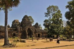Ta Phrom and Tonle Bati