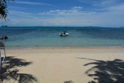 Just down the beach from the Intercon. Photo taken in or around Taling Ngam Beach, Ko Samui, Thailand by Stuart McDonald.