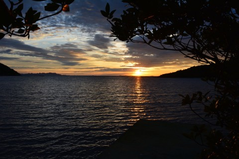 Mangrove sunset. Photo taken in or around Ko Taen, Ko Samui, Thailand by Stuart McDonald.