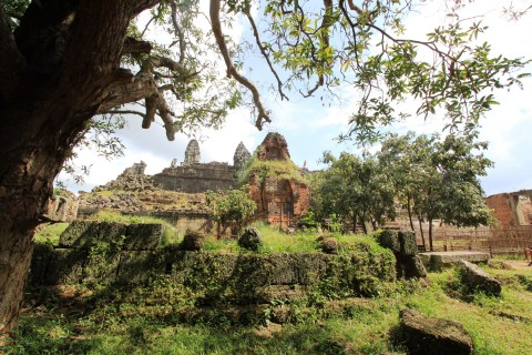 Tumbledown in places. Photo taken in or around How to avoid the crowds at Angkor , Angkor, Cambodia by Caroline Major.