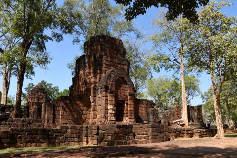 You'll often have the site to yourself. Photo taken in or around Prasat Mueang Singh, Kanchanaburi, Thailand by David Luekens.