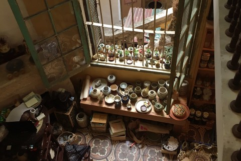 Would you like a side of atmosphere with your ceramics? Try the little shop behind Loading T. Photo taken in or around Shopping in Hanoi, Hanoi, Vietnam by Samantha Brown.