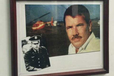 Hugh Thompson. A man who did the right thing. Photo taken in or around Son My Museum, Quang Ngai, Vietnam by Cindy Fan.