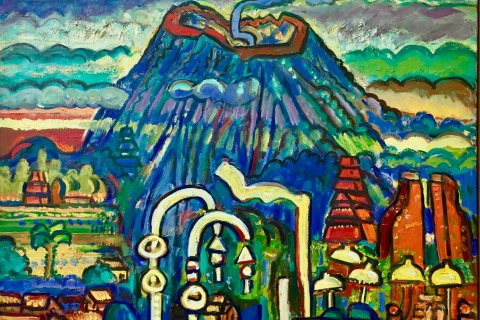 Island of the Gods. Photo taken in or around Agung Rai Museum of Art (ARMA), Ubud, Indonesia by Sally Arnold.
