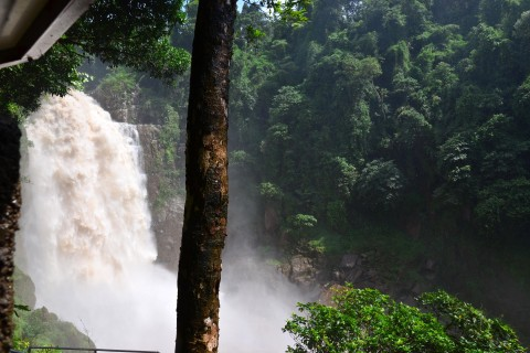 The falls. Photo taken in or around Haew Narok Waterfall, Khao Yai National Park, Thailand by David Luekens.