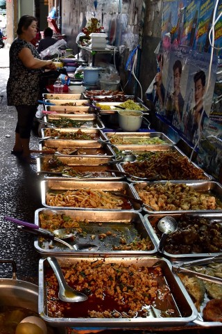 Street food around Sala Daeng