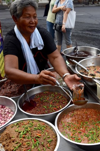 Street food around Khao San Road