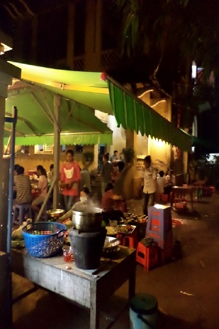 Norodom street food restaurant