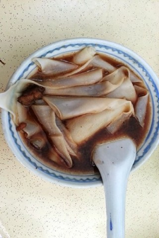 Singapore hawker dishes: Kway chap