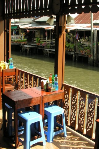 Khlong Bang Luang noodle shops
