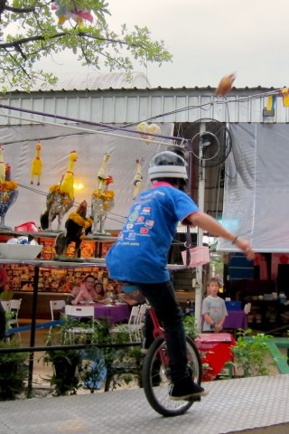 Ka-Tron Restaurant (Flying Unicycle Chicken)