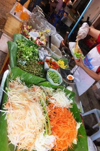 Eating on Ko Samui for 150 baht per day