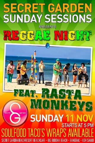 Reggae music and bars on Samui