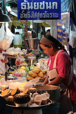 Streetfood: Eastern End of Rambutri Rd