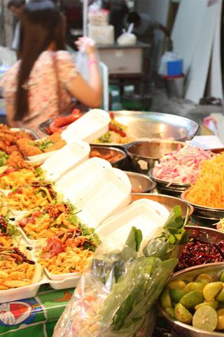 Streetfood: Wang Lang Market