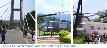 War detritus and the Ho Chi Minh trail in Vietnam's DMZ
