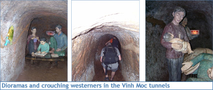 The Vinh Moc Tunnels in Vietnam's DMZ