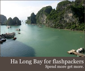 Ha Long Bay for flashpackers