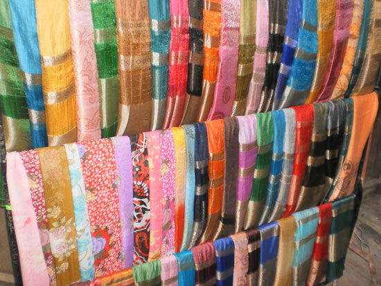 Fabrics for sale in Hoi An