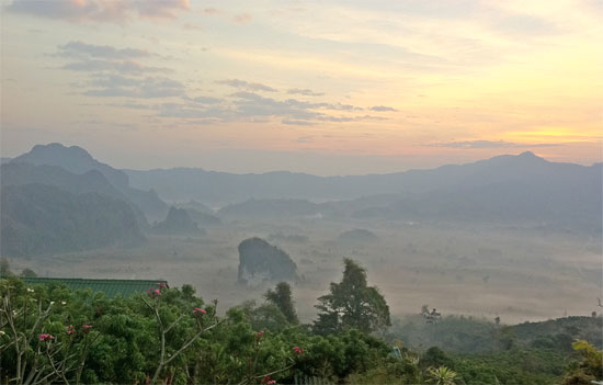 Dawn at Phu Lang Ka