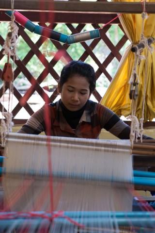 Silk-weaving centre