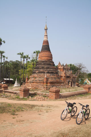 Cycling around Mandalay