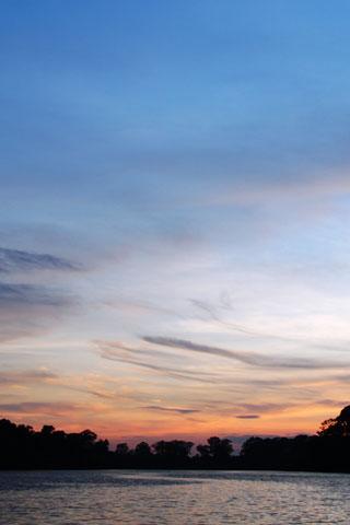 Sunset at Angkor Wat Moat