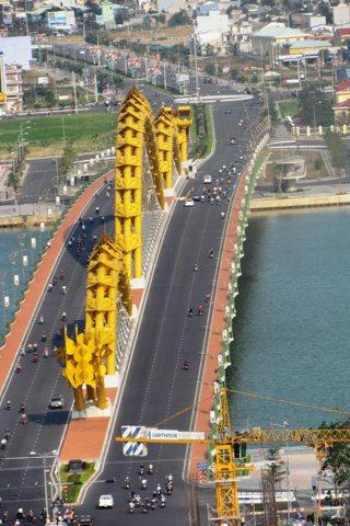 Photo of Da Nang's bridges