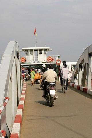 Saigon's Thu Thiem Ferry