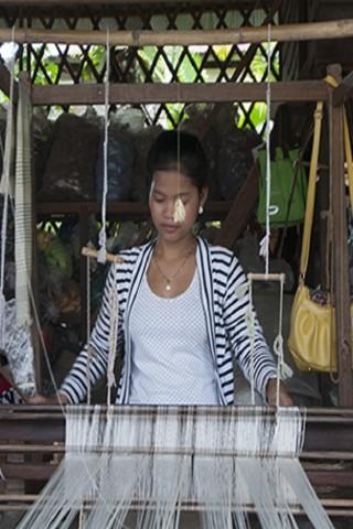 Khmer kramas in Siem Reap