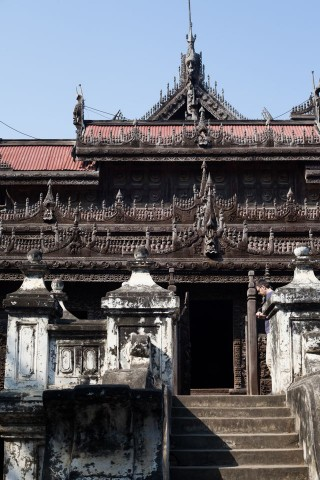 Shwenandaw Kyaung or Golden Palace Monastery