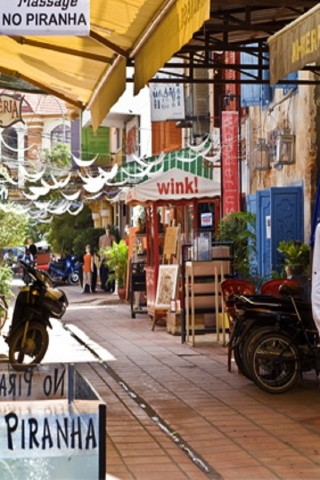 Siem Reap street guide: Alley West