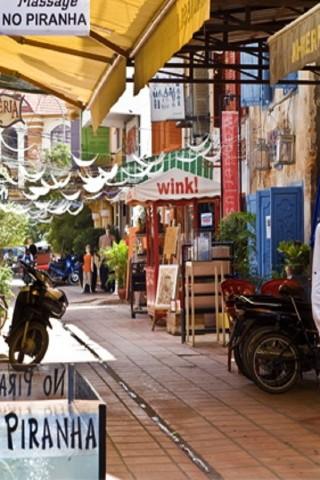 Siem Reap street guide: Alley West