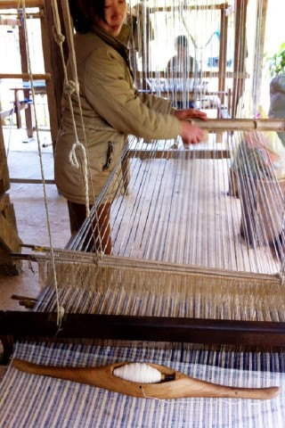 Weaving and textiles in Luang Prabang