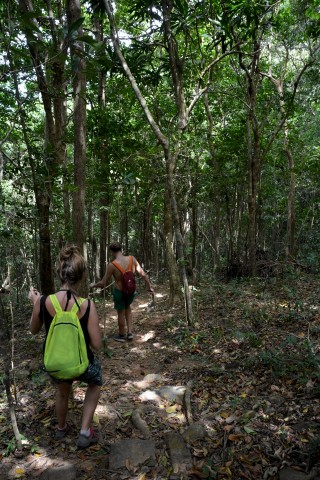 Hiking in Con Dao National Park