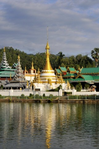 Photo of Wat Jong Klang and Wat Jong Kham