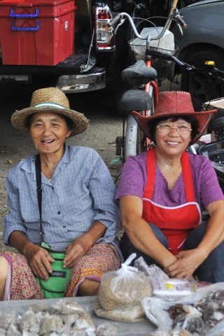 Photo of Mae Hong Son markets