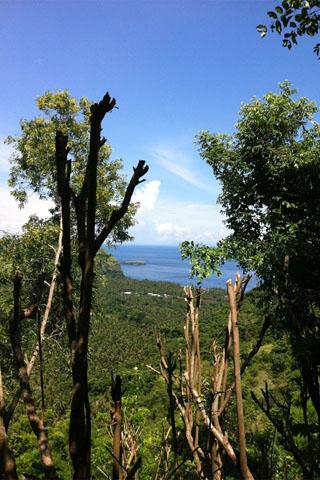 Candi Dasa view point