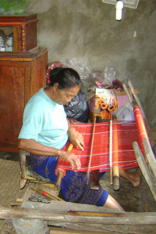 Tanglad traditional weaving centre