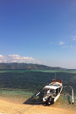 Snorkelling on Gili Air