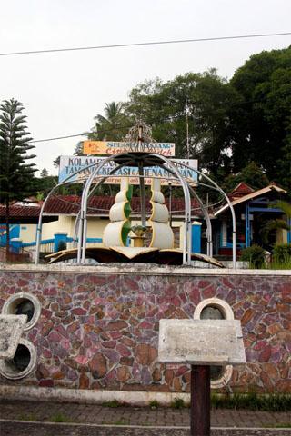 Hot springs at Cipanas