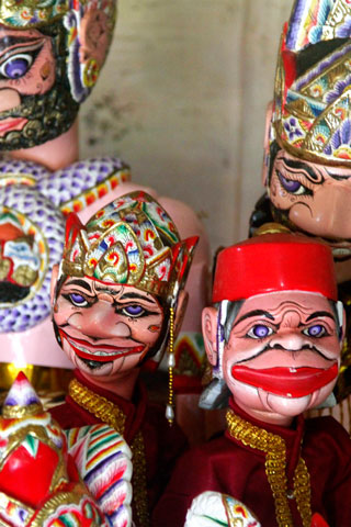 Photo of Agus Wayang - Puppet Workshop