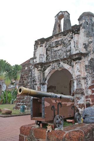 A'Famosa (Porta de Santiago)