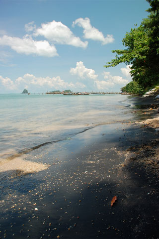Photo of Pantai Pasir Hitam (Black Sand Beach)