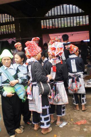 Trekking background: Minorities in Lao Cai