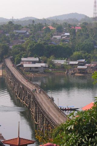 Bridge to the Mon Village