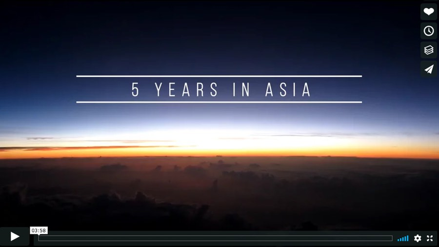 5 Years in Asia