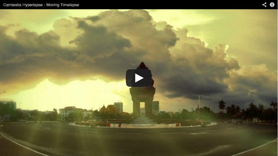 View Cambodia hyperlapse on Youtube