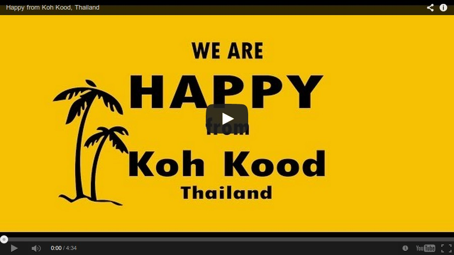View Happy on Ko Kut on Youtube